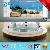 Round-Shape construir en la bañera de masaje (BT-A1001)