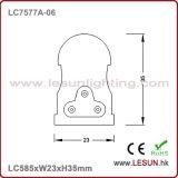 Alta qualità 9W nessun indicatore luminoso scuro LC7577A-06 del tubo di zona LED T5