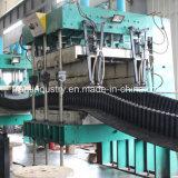 De golfdie Transportband van de Zijwand Op Industrie van het Cement wordt gebruikt