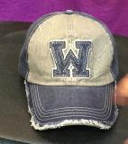 Chapéu relativo à promoção do tampão do esporte do basebol do Applique camuflar