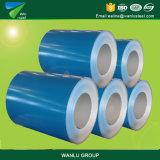 Нов сталь поставкы основным покрынная цветом свертывает спиралью катушки PPGI