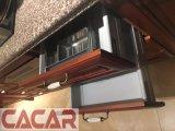 ベストセラーのヨーロッパ様式の純木の食器棚