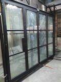 Дверь супер качества стальная французская Bifold/дверь складчатости