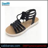 Девушек в красивый пляж удобные регулируемые желе сандалии