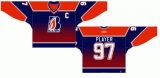 Hokey di ghiaccio domestico personalizzato della strada delle giacche sportive 1987-2005 occidentale di Kamloops della Lega di Hockey dei capretti delle donne degli uomini Jersey