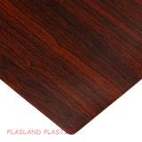 PVC 목제 곡물 장/PVC Woodgrain 장/PVC 나무 장