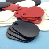 耐久MIFAREの標準的な1Kガラス繊維RFIDのkeyfobの主札