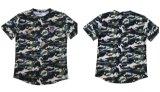 Venda quente marcada t-shirt de rayon da alta qualidade dos homens da rua da forma para Amazon