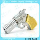 금속 권총 전자총 모양 USB 섬광 드라이브 (ZYF1197)