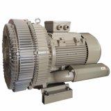 ventilatore rigeneratore della Doppio-Fase ad alta pressione 1.5kw per aspirazione di vuoto