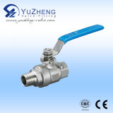 Steel di acciaio inossidabile Ball Valve con One-Side Thread