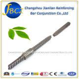 Rebar 12-40mmをリンクするのに使用される棒鋼のカップリング