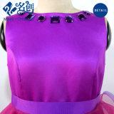 Púrpura Rojo Slim sexy vestido corto de moda