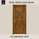 Portes en bois intérieures de porte élégante en bois solide pour la chambre de hôtel