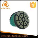 Алмазного резца пола 3 дюймов пусковая площадка конкретного керамическая полируя