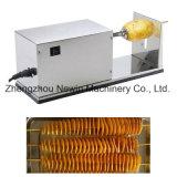 Elektrischer Edelstahl-Spirale-Kartoffel-Scherblock