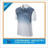 Nivel superior de poliéster seco Fit Golf Jersey