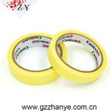 Wärme des Gelb-18mm*50m widerstehen selbsthaftendem Kreppband
