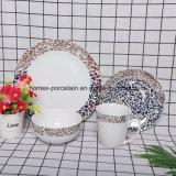 Diseño del cliente de vajilla de cerámica para Hotel