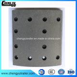 El amianto no Material Semi-Metallic carretilla forros de freno