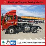 Rotella 5ton Cargotruck chiaro della Cina HOWO 6 da vendere