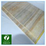 30 años de garantía de la madera en interiores y WPC compuesto de plástico de la junta de la pared con un tamaño 450*9 mm.