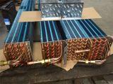 Serpentina d'evaporatore di alluminio prefabbricata dell'aletta del tubo di rame