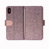 Яркий провод фиолетового цвета кожи мобильный телефон для Iphonex бумажника