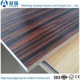 5-18mm de espesor de madera contrachapada de melamina color sólido