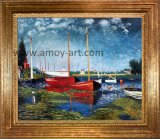 Reproduzir de Monet pinturas a óleo artesanais para decoração de parede