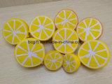 PU Squishy jouet de la moitié de la forme de citron Squishies Squeezable ralentir la hausse