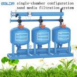 Het enige Systeem van de Filtratie van de Media van het Zand van de Configuraties van de Kamer Auto met de StandaardEenheden van de Cilinder van het Zand van de Filter