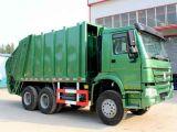 Sinotruk HOWO 10m3の圧縮されたごみ収集車の熱い販売