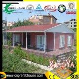 Casa de campo Pre-Pré-fabricada moderna do aço da luz da casa