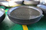La forja de alta precisión de acero inoxidable de gran plato de cabeza semiesférica