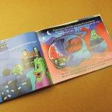 Impression polychrome de livre d'art de livre de livre À couverture dure de livre d'enfants