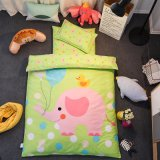100 Baumwolle 6 und 7 Stück-Baby-Krippe-Blatt-Sets