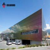 Os espectros Hotsale Nano Painel fachada composto de alumínio