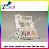 preço de fábrica feitas de papel ondulado Caixa de Exibição Cosméticos