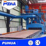 Macchina di granigliatura della strumentazione di pulizia del trasportatore a rulli per il fascio di H