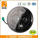 オフロードジープのための7inch LEDのヘッドライトのハイ・ロービーム円形ランプ