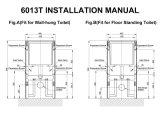 洗面所または洗面所タンク(6013T-W)のための透かしの新製品の強くされたガラス水槽