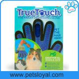 Перчатки холить собаки любимчика вспомогательного оборудования любимчика фабрики