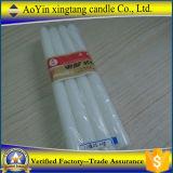 100% بارافين شمع شمعة بيضاء مع [بورنينغ تيم] طويلة