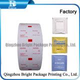 PE laminada de papel para envolver el azúcar, PE laminada de papel de embalaje de alimentos, PE laminada de rollo de papel Film