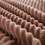 Cobertor de venda superior do velo da dobra do dobro de Polyeser