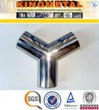 A403 Wp316/304 Typ seitliche Stück-Rohrfittings des Edelstahl-Y