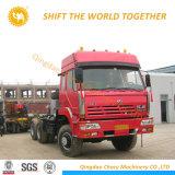 Nuevo diseño Iveco Hongyan camión tractor 380HP 10Tractor de ruedas de camión de la cabeza