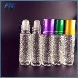 botella del grano de la botella de perfume de la botella de cristal 8ml