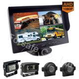 Ahd 1080P 9  Systeem van de Camera van de Auto van de Monitor van het Voertuig van het Scherm van de Mening van de Vierling Rearview voor de Bagage van de Stappen van Vliegtuigen en de Tanker van de Brandstof van de Vrachtwagen